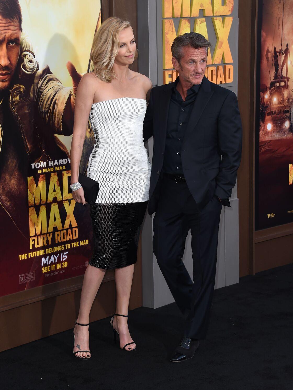 Sean Penn et Charlize Theron sur le tapis rouge de la première du film