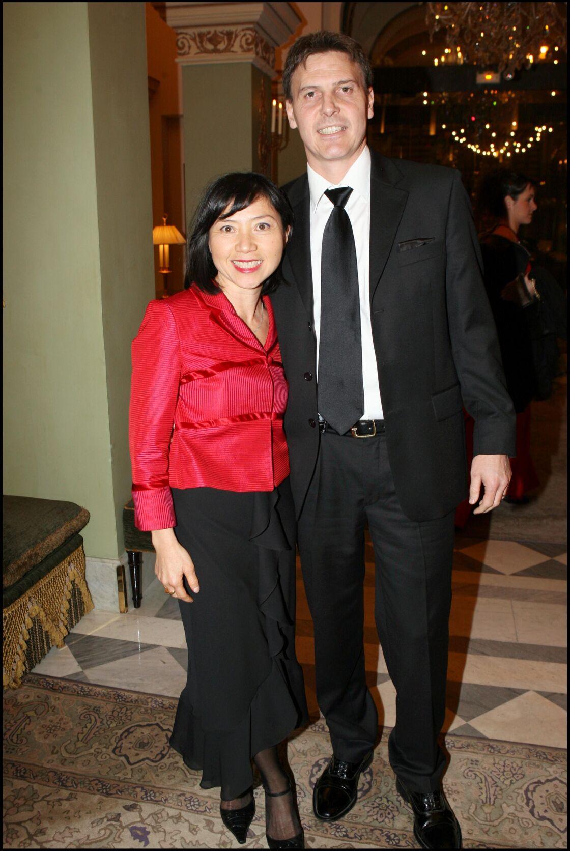 Anh Dao Traxel, et son époux Emmanuel Traxel.