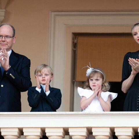 PHOTOS – Jacques et Gabriella, les enfants d'Albert et Charlène de Monaco, très élégants au balcon
