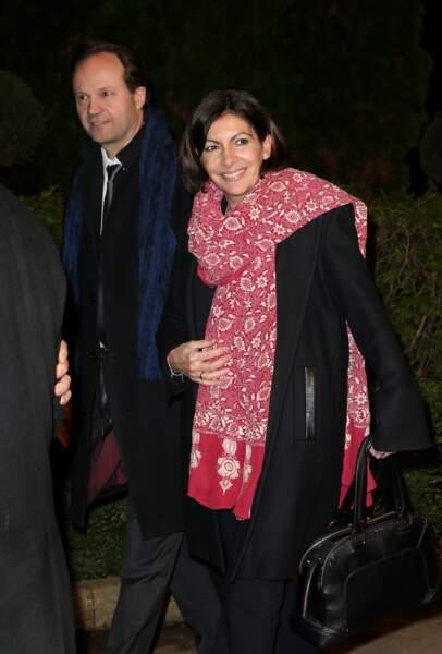 Anne Hidalgo et son mari Jean-Marc Germain en mars 2014