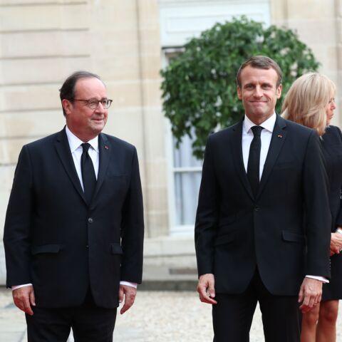 François Hollande et Emmanuel Macron: ces retrouvailles très commentées
