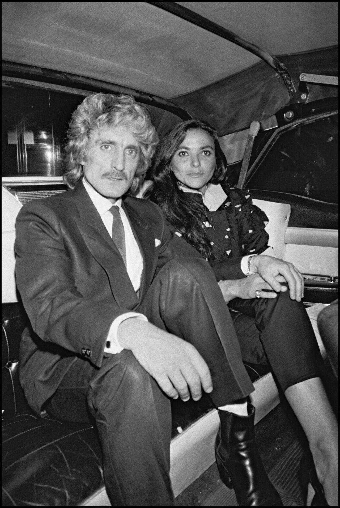 Christophe et sa femme Véronique Bevilacqua, dans les années 1980.