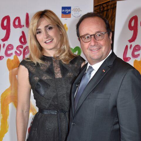 """Julie Gayet: avec François Hollande, """"c'est vraiment l'égalité homme-femme"""""""