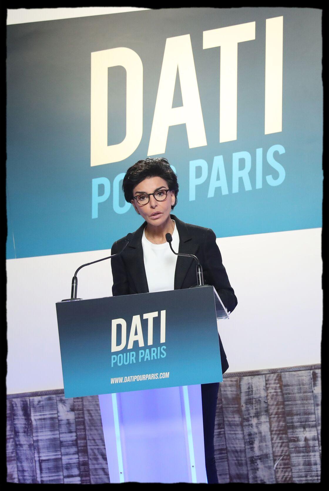 Rachida Dati a proposé aux représentants de l'intersyndicale une partie de son temps de parole