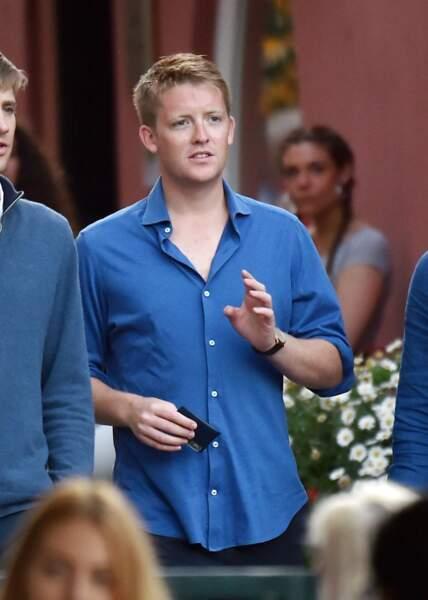 Hugh Grosvenor en vacances à Portofino, un petit air du prince Harry ?