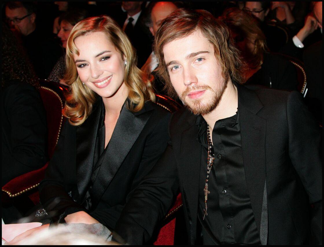 Julien Doré et Louise Bourgoin en 2008.