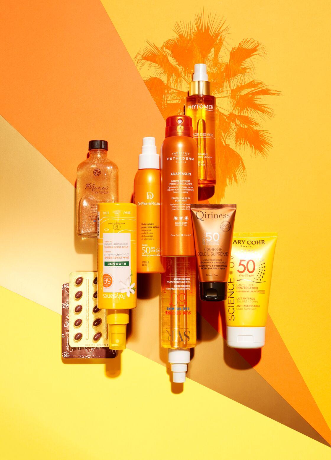 Le vanity pour une peau dorée et satinée sur la Côte d'Azur