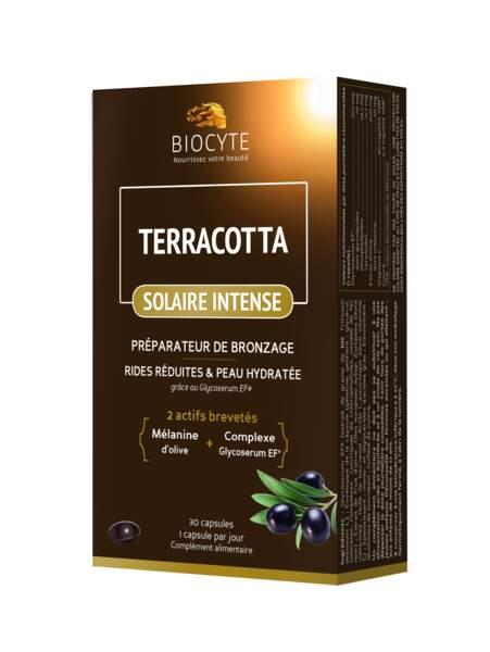 Complément alimentaire préparateur de bronzage Solaire Intense, Biocyte, 31 €