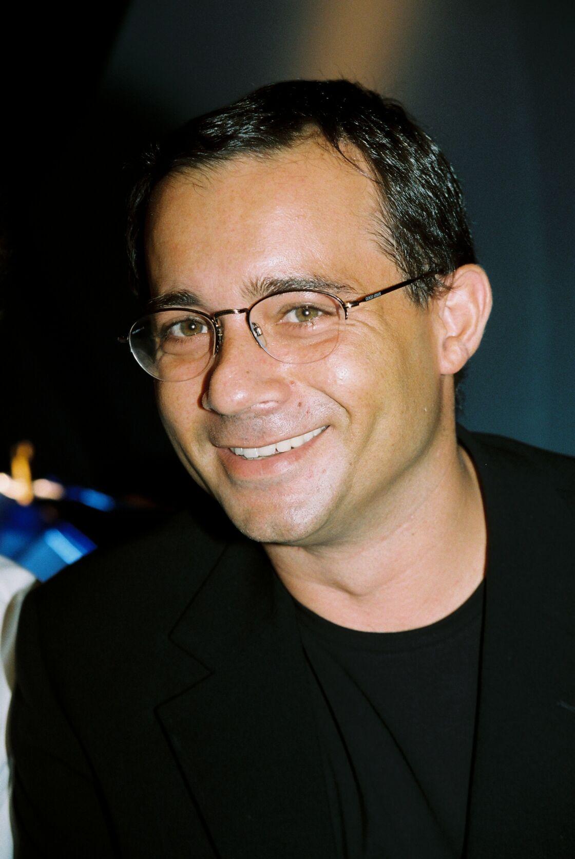 Jean-Luc Delarue lors de la rentrée France Télévision 2001-2002 à Paris, le 27 août 2001.