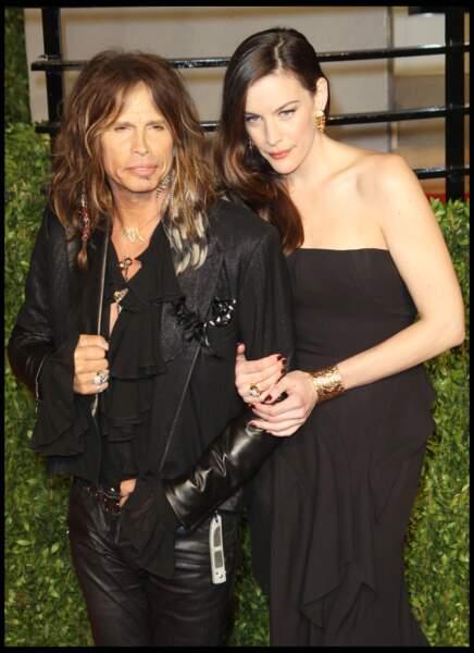 Liv Tyler, avec son père Steven Tyler