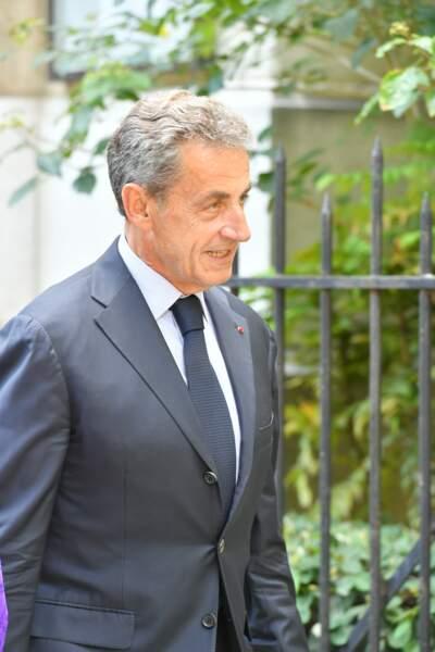 Nicolas Sarkozy a tenu à rendre hommage à cet homme politique de droite