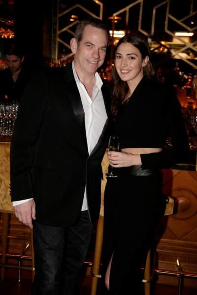 Garou et sa compagne Stéphanie
