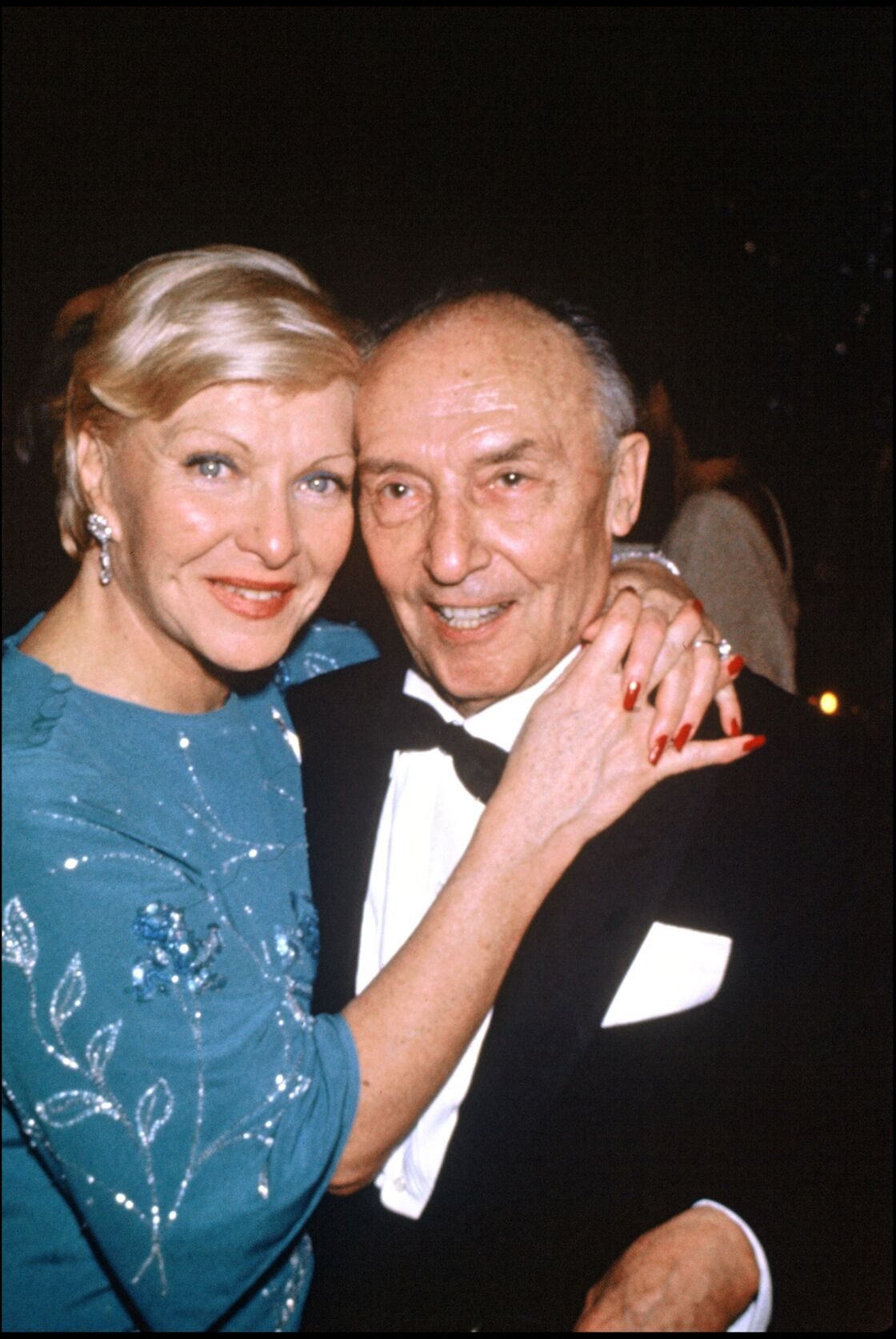 Line Renaud et son mari Loulou Gasté en 1983
