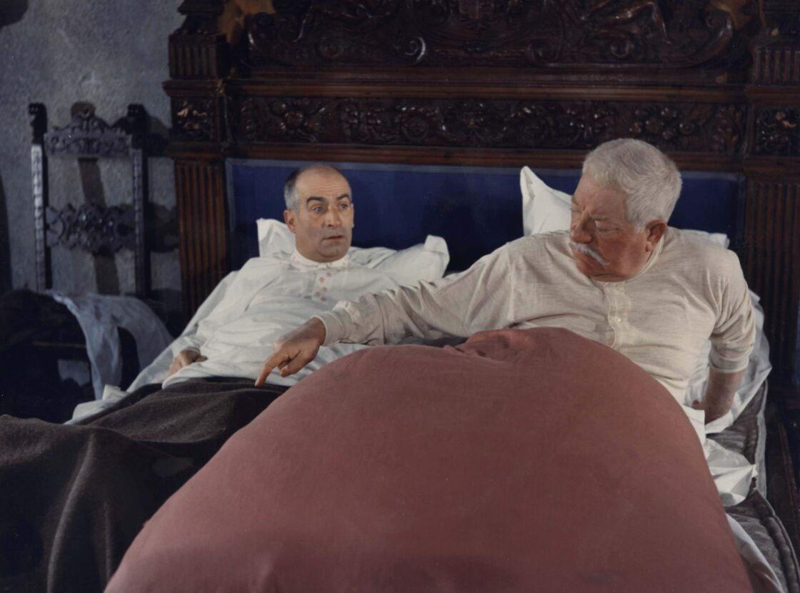 Louis de Funès et Jean Gabin dans Le Tatoué de Denys de la Patellière en 1968