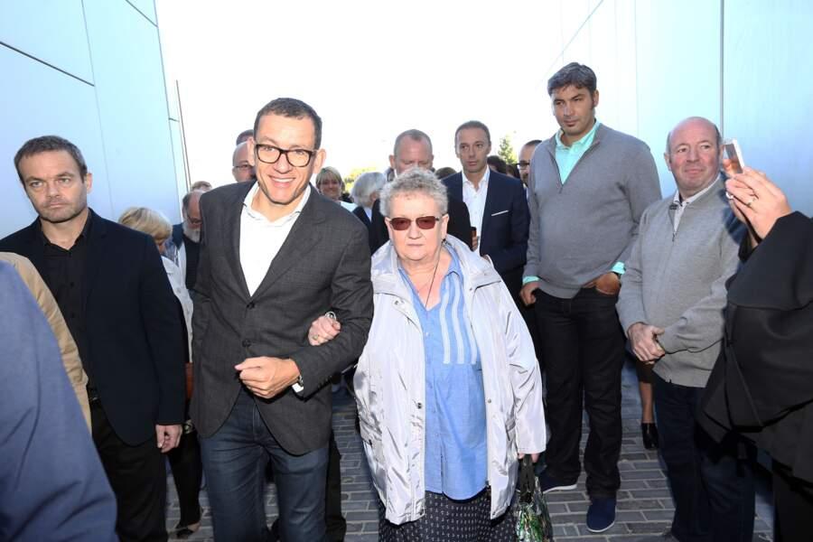 Dany Boon et sa mère, Danièle Hamidou-Ducatel de son vrai nom, sont tous les deux très complices