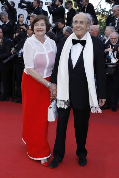 Macha Méril et Michel Legrand se sont mariés le 18 septembre 2014, à l'âge de 73 ans et 82 ans