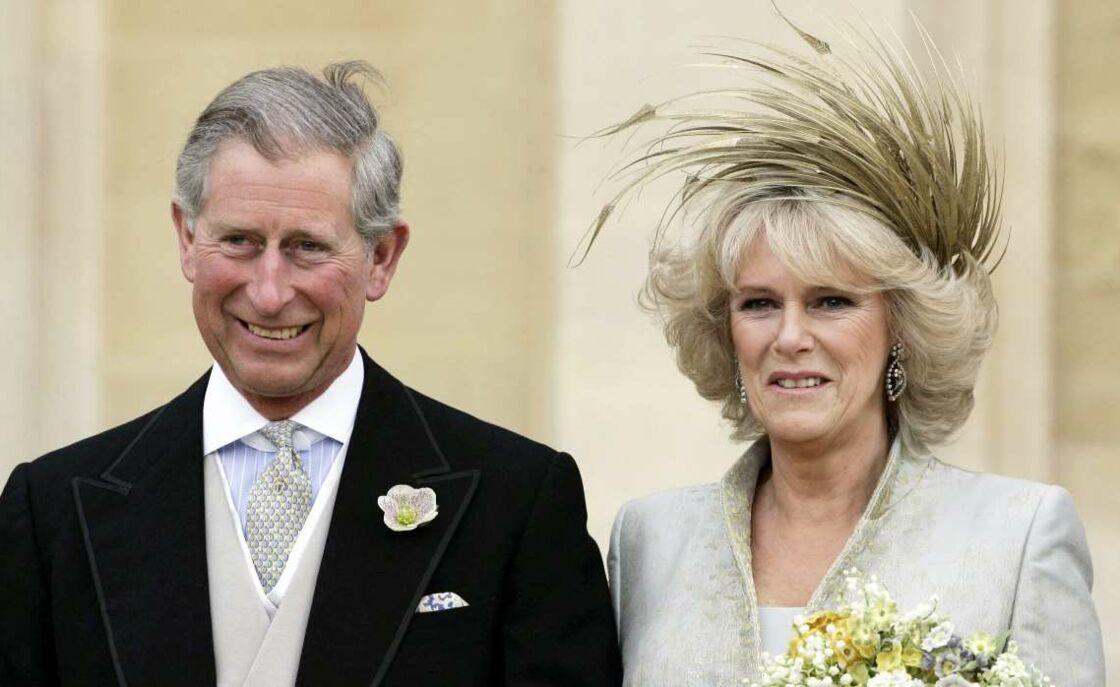 Le prince Charles et Camilla se sont mariés le 9 avril 2005 à Windsor.