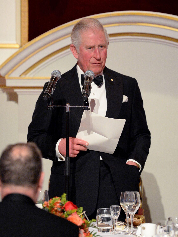 Le prince Charles en mars 2020