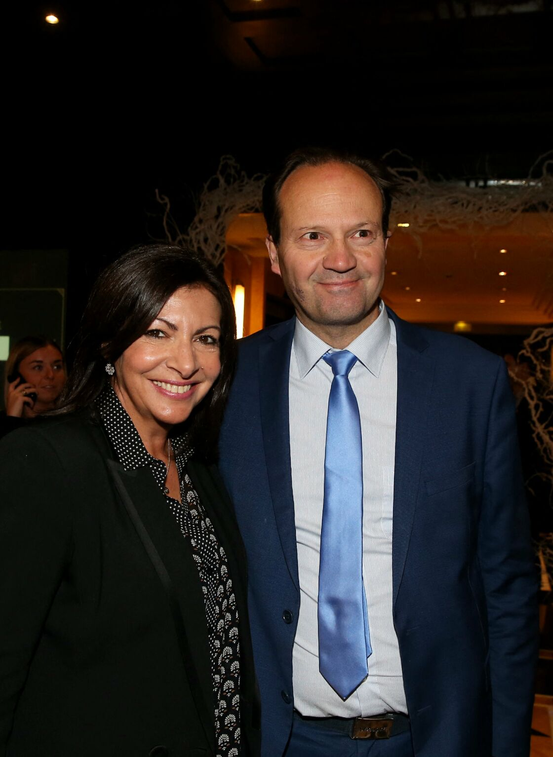 Anne Hidalgo et Jean-Marc Germain en 2019