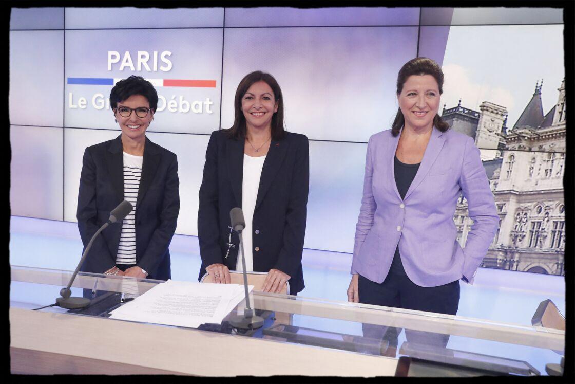 Rachida Dati, Anne Hidalgo et Agnès Buzyn, le 17 juin 2020
