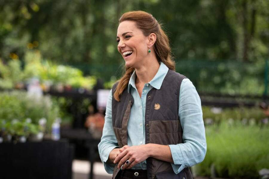 Kate Middleton était visiblement heureuse de pouvoir à nouveau remplir ses engagements.