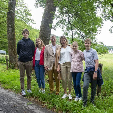 PHOTOS – Philippe et Mathilde de Belgique: leurs enfants ont bien grandi