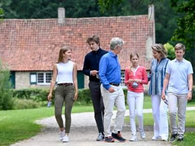 PHOTOS - Philippe et Mathilde de Belgique et leurs enfants font du tourisme en Belgique