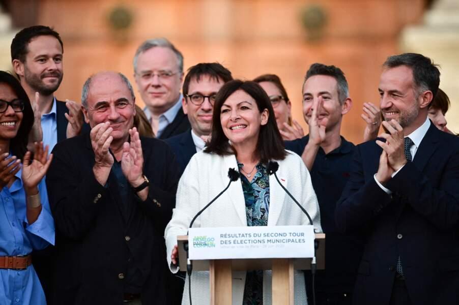 Pour rappel, Anne Hidalgo a remporté les élections avec 48,49 % des voix.