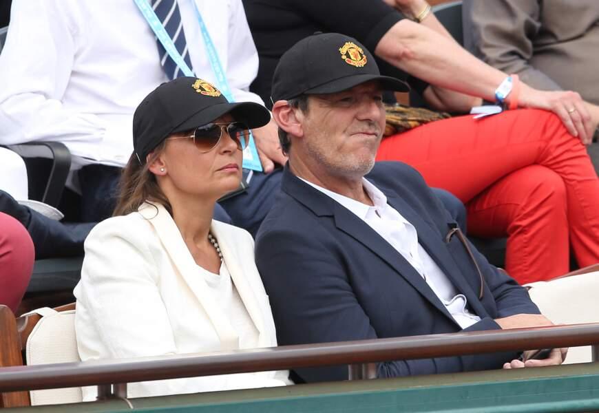 Journée tennis pour Jean-Luc Reichmann et Nathalie Lecoultre