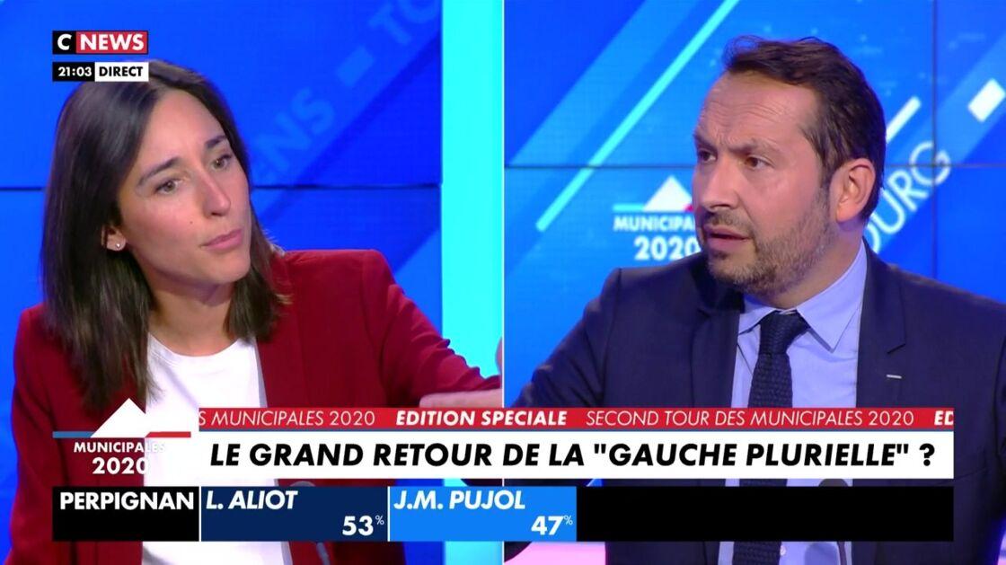 Brune Poirson et Sébastien Chenu se sont livrés à une violente passe d'armes sur l'antenne de CNews ce dimanche 28 juin