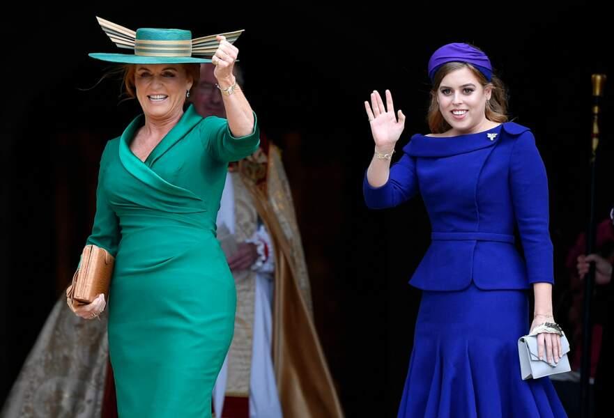 Sarah Ferguson et sa fille aînée la princesse Beatrice.
