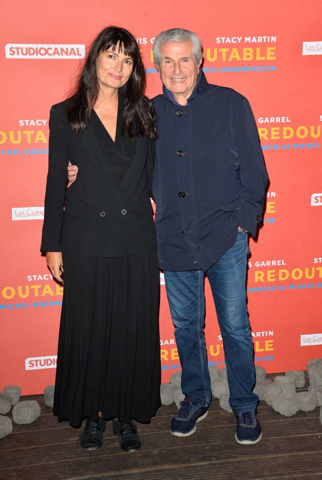 Claude Lelouch et Valérie Perrin à l'avant-première du film