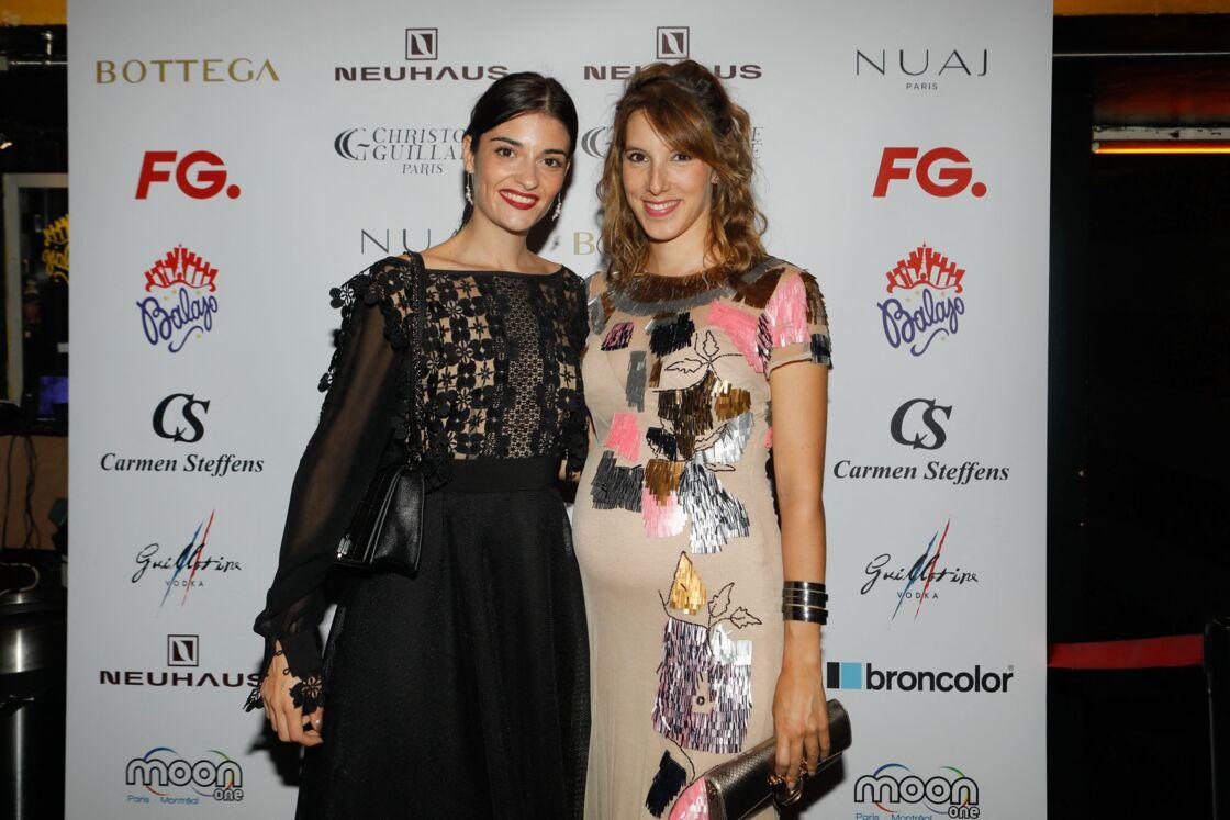 Lea François et Eléonore Sarazzin à la soirée FG, en 2019