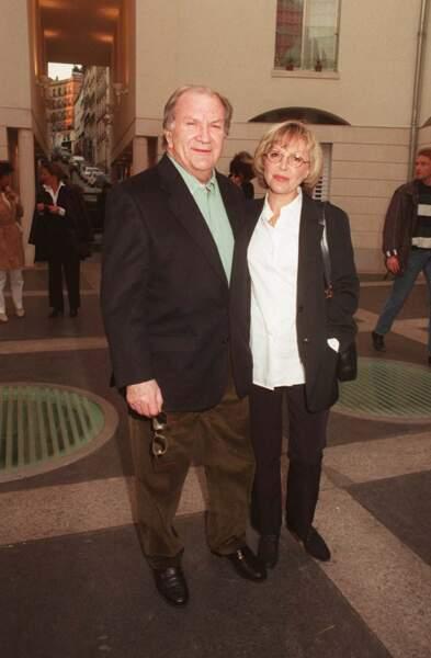 Pierre Mondy et sa femme Catherine