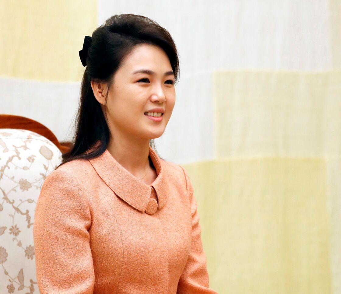 Ri Sol-Ju, l'épouse du leader nord-coréen Kim Jong-un.