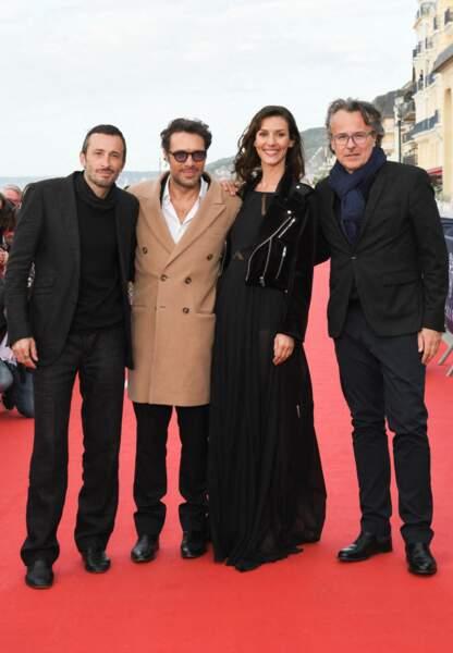 L'équipe du film La Belle Epoque, lors de la 34ème édition du festival de Cabourg, Journées Romantiques le 29 juin 2020.