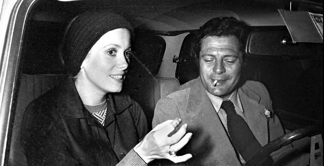 Catherine Deneuve et Marcello Mastroianni en 1973.