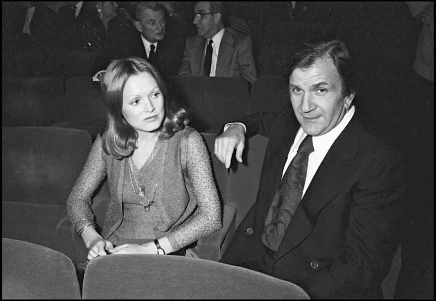 Pierre Mondy et sa femme Annie Fournier