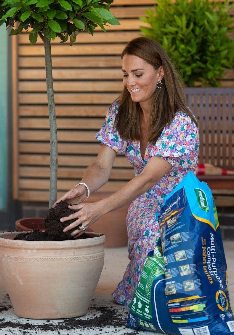 Kate Middleton, adepte du jardinage