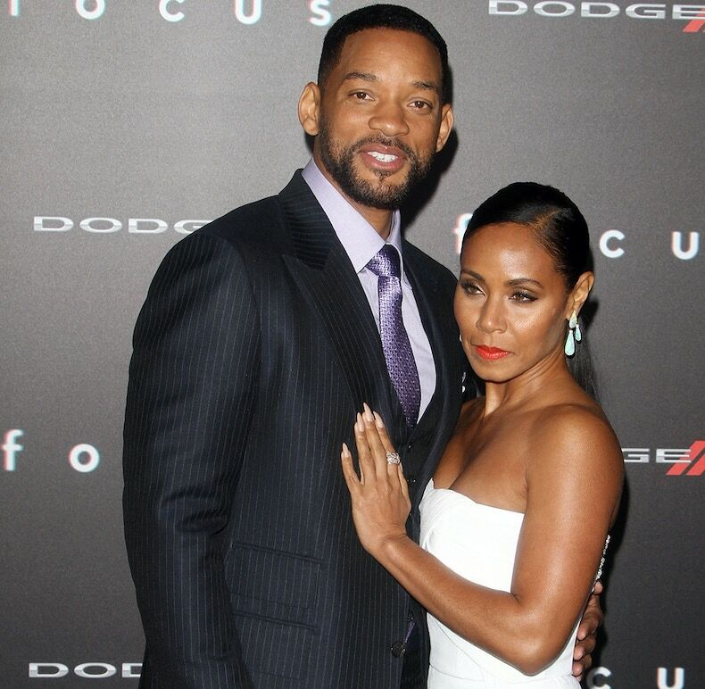 Will Smith et sa femme, Jada Pinkett Smith, mariés depuis 1997