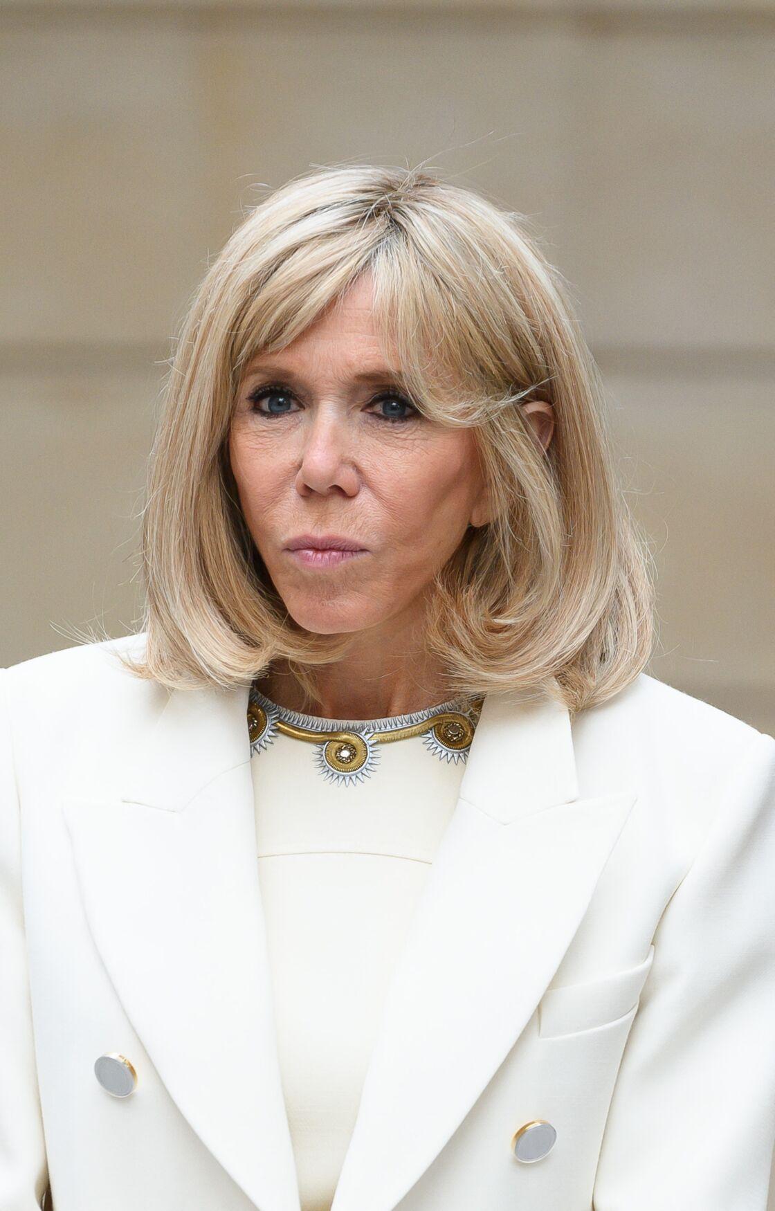 Brigitte Macron en mai 2020