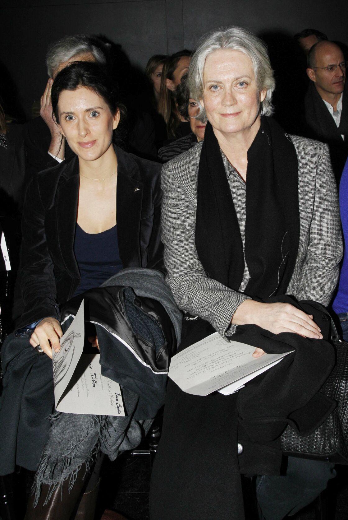 Marie Fillon, au côté de sa mère Penelope.