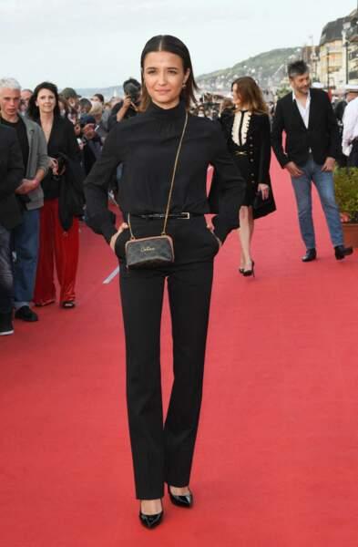 Carmen Kassovitz, la fille de Mathieu Kassovitz a fait une apparition remarquée sur le tapis rouge