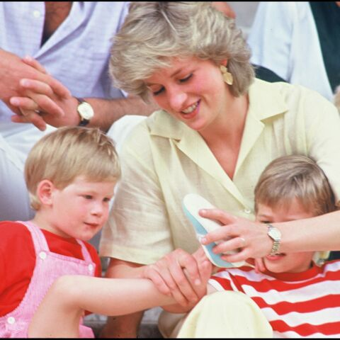 PHOTOS – Diana : retour sur ses photos intimes avec Harry et William