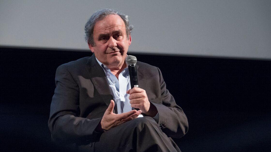Michel Platini, le 29 janvier 2020, à l'occasion du 7ème Festival Sport, Littérature et Cinéma à l'Institut lumière de Lyon.