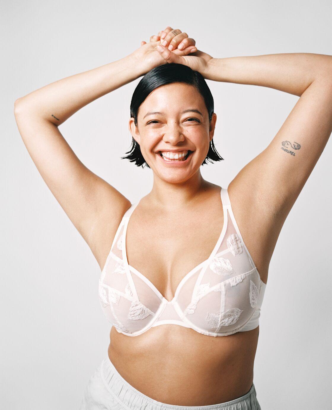 Avec Your voice, your lingerie, Chantelle s'adresse à toutes les morphologies