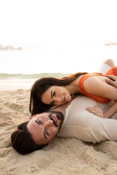 Nabilla et son mari Thomas vergara sous le soleil de Dubaï