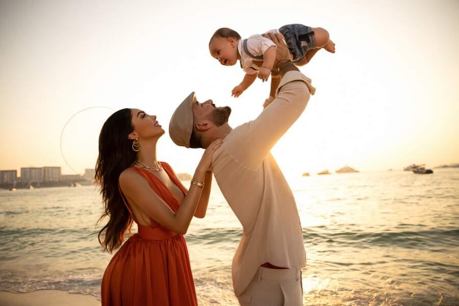 Nabilla et Thomas Vergara, Des parents comblés par leur fils Milann