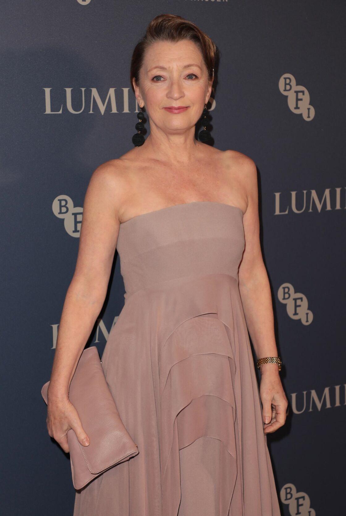 Lesley Manville, l'actrice choisie pour interpréter la princesse Margaret dans la saison 5 de The Crown