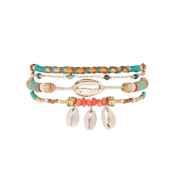 Bracelet, 55€, Hipanema.
